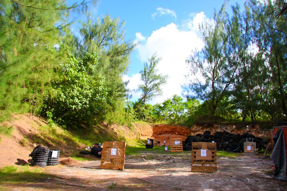 CQBグアムの野外射撃場『チャモロシューティングレンジ』